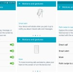 Samsung Galaxy S6 Motions and gestures