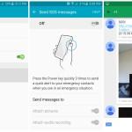 Samsung Galaxy S6 Send SOS messages