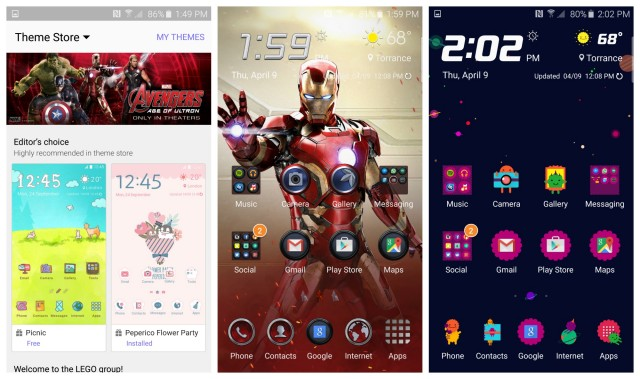 Samsung Galaxy S6 Themes