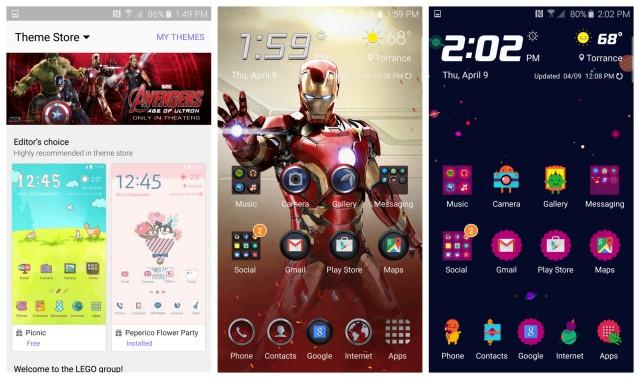 Samsung Galaxy S6 Themes