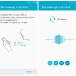 Samsung Galaxy S6 Wake-up command setup