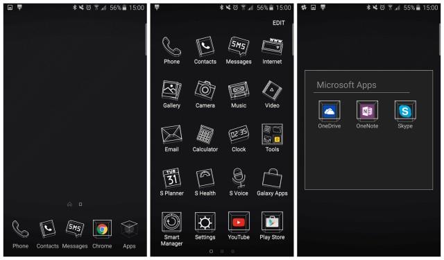 Samsung Galaxy S6 new themes