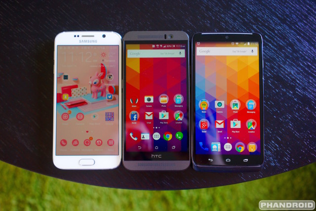 Samsung Galaxy S6 vs HTC One M9 vs DROID Turbo DSC09252 (1)