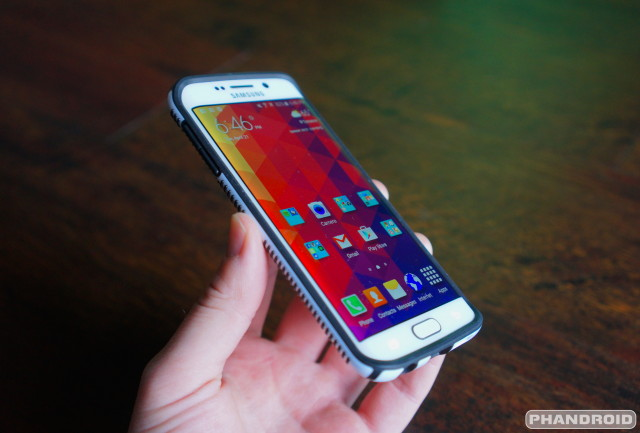 Speck CandyShell Grip Galaxy S6 Edge case DSC09490