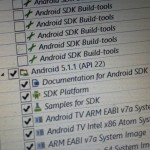 android 5-1-1 sdk manager