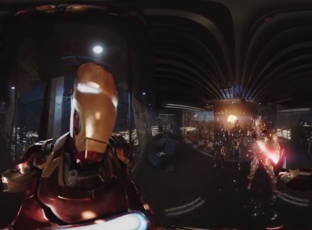 avengers 360 degrees