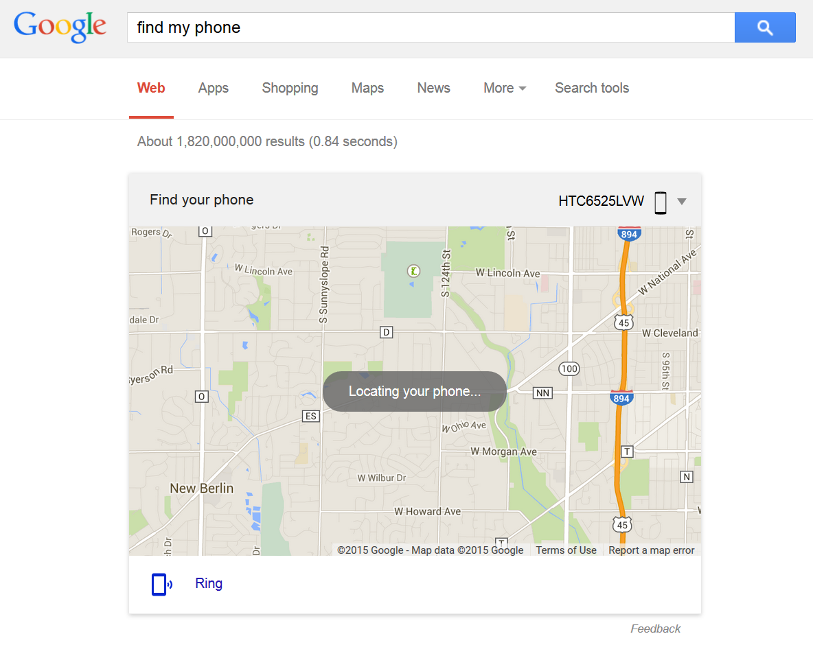 Phone Google Android Find Phone quick tip you can now type find my phone into google to locate it phone