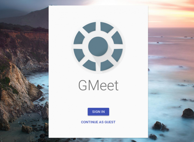 google meetings gmeet