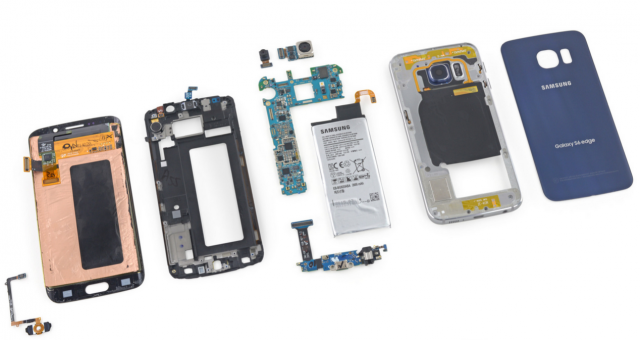 samsung galaxy s6 edge teardown