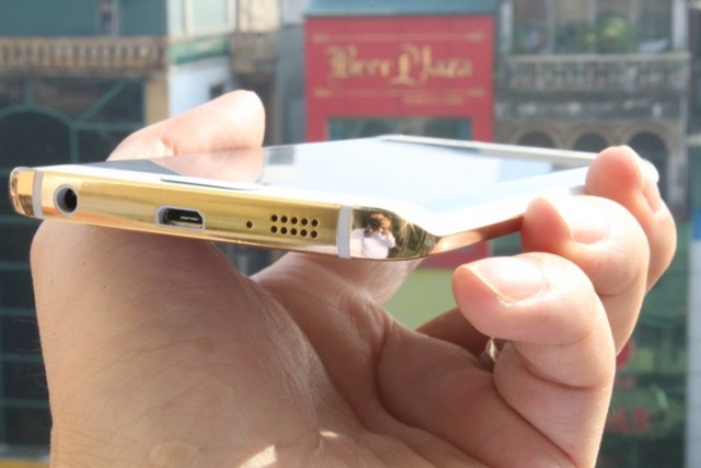 samsung galaxy s6 gold plated 4