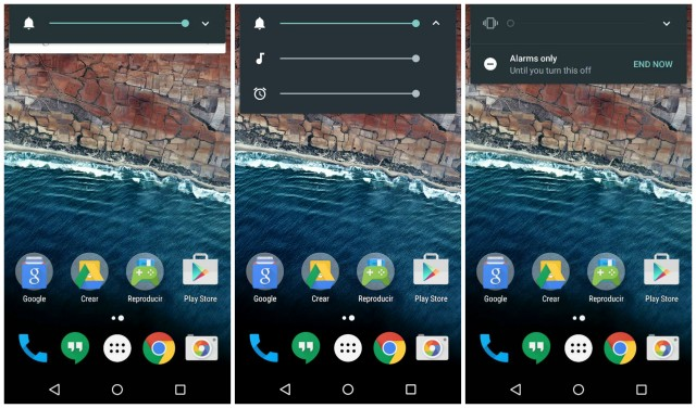 Android M sound controls