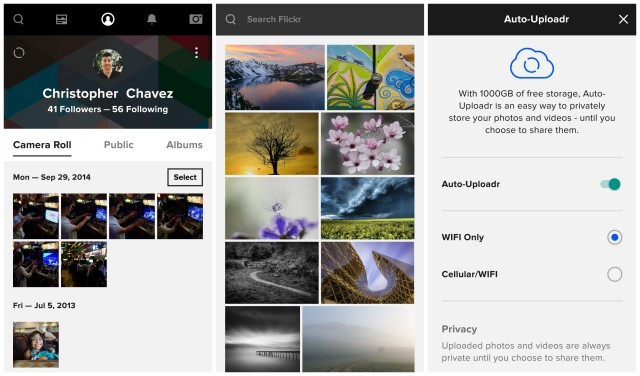 Flickr 4.0 Android update