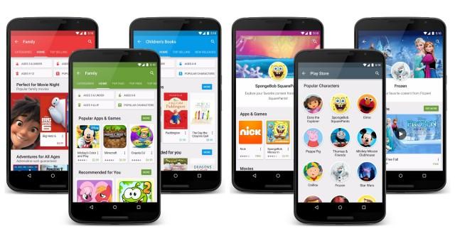 Google Play Family Star