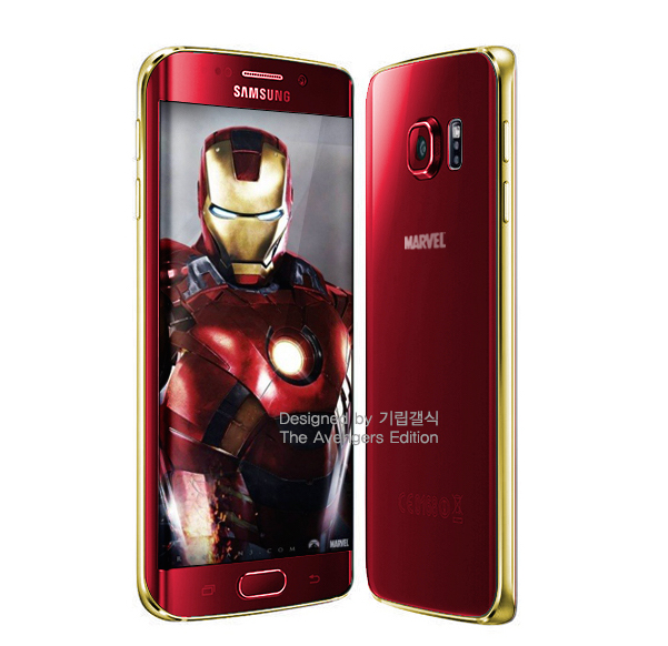 Iron Man edition Samsung Galaxy S6 Edge