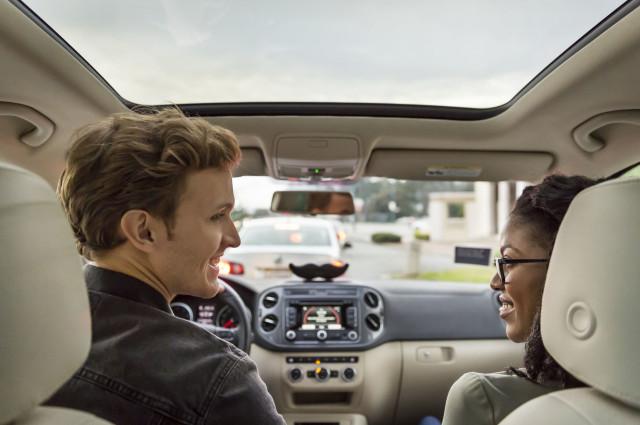 Lyft driver passenger