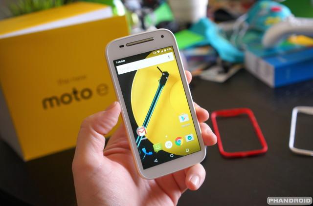 Motorola Moto E 2nd Gen 2015 DSC09129