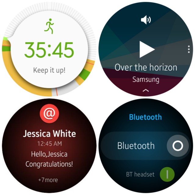 Samsung Gear A Orbis UI