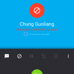 TrueCaller - Incomiing Call - Spam Caller