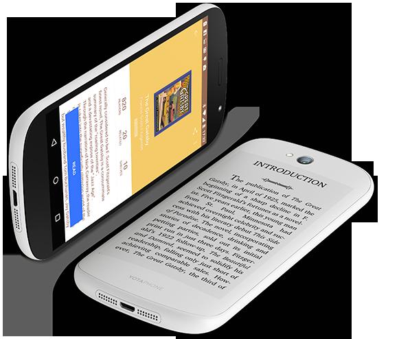 YotaPhone 2 white dual