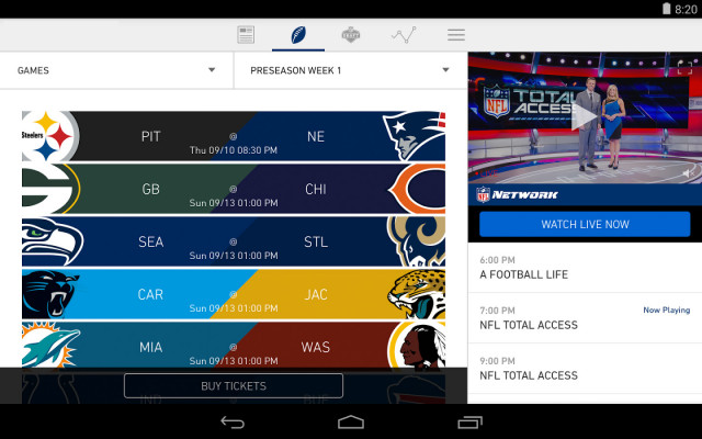 android-nfl