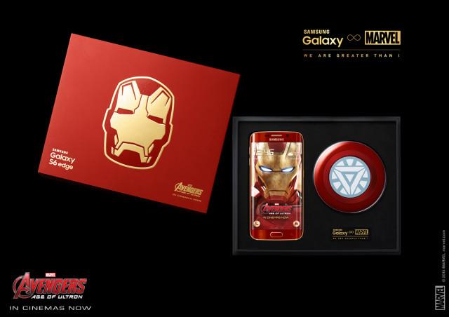 iron man galaxy s6 2