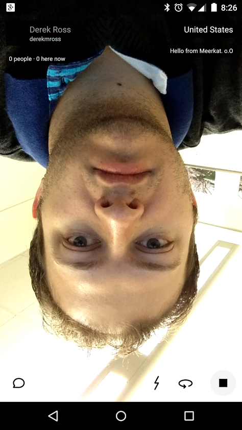 meerkat upside down beta lol
