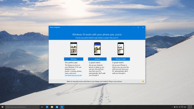 microsoft mobile apps setup