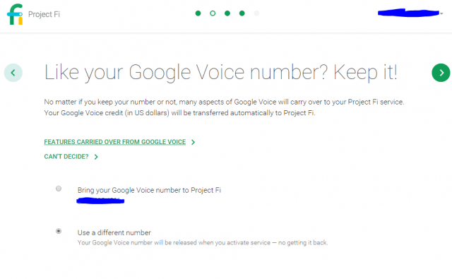 project fi signup 1
