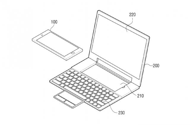 samsung laptop dock patent 1