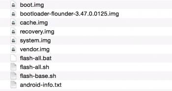 """Nexus 9  """"volantis"""" extracted image"""