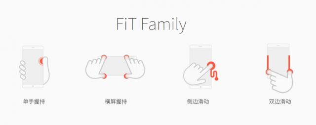 zte nubia fit family