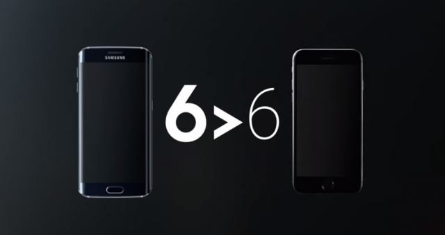 6 greater than 6 samsung iphone