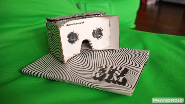 Adult Swim VR cardboard viewer DSC09793