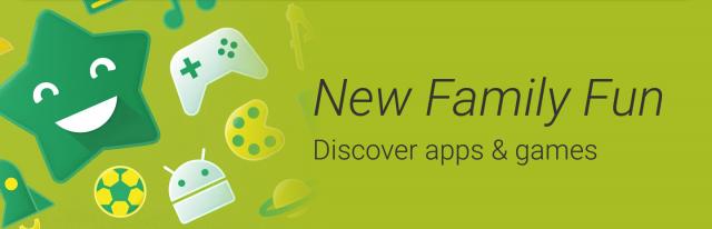Google Play Family banner
