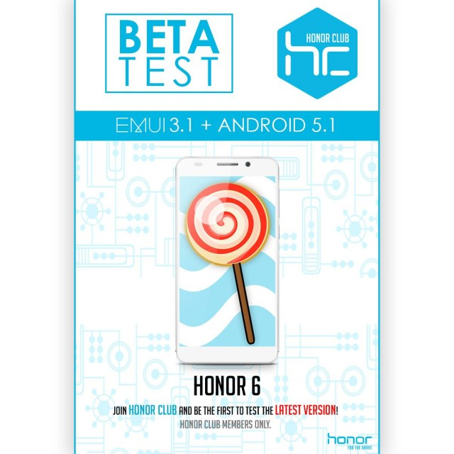 Huawei Honor 6 Lollipop