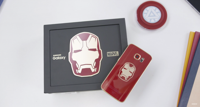 Iron Man Edition Samsung Galaxy S6 Edge unboxing