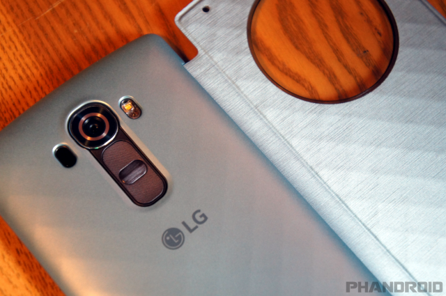 LG G4 Quick Circle snap on