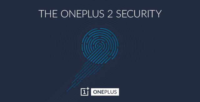 OnePlus 2 fingerprint sensor scanner reveal 1