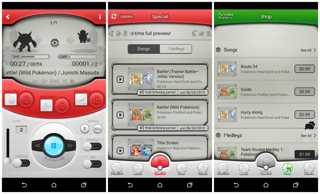 Pokemon Jukebox Android