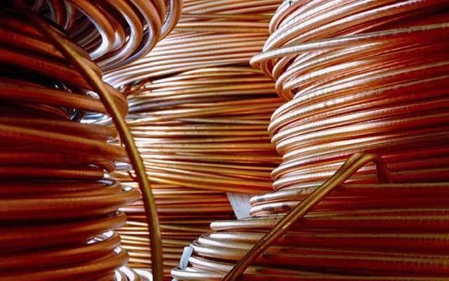Verizon copper cable coils