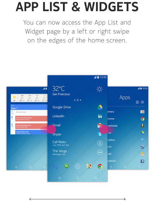 Z Launcher Widget update
