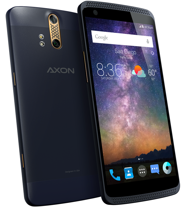 High End Zte Axon Phone With 4gb Ram Comes To The Us In July