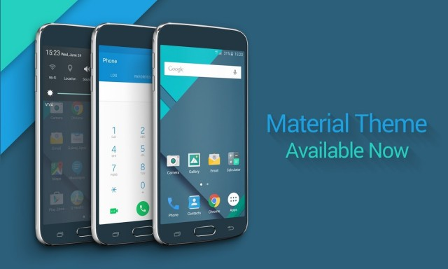 galaxy s6 material theme