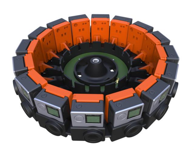 google jump vr camera array