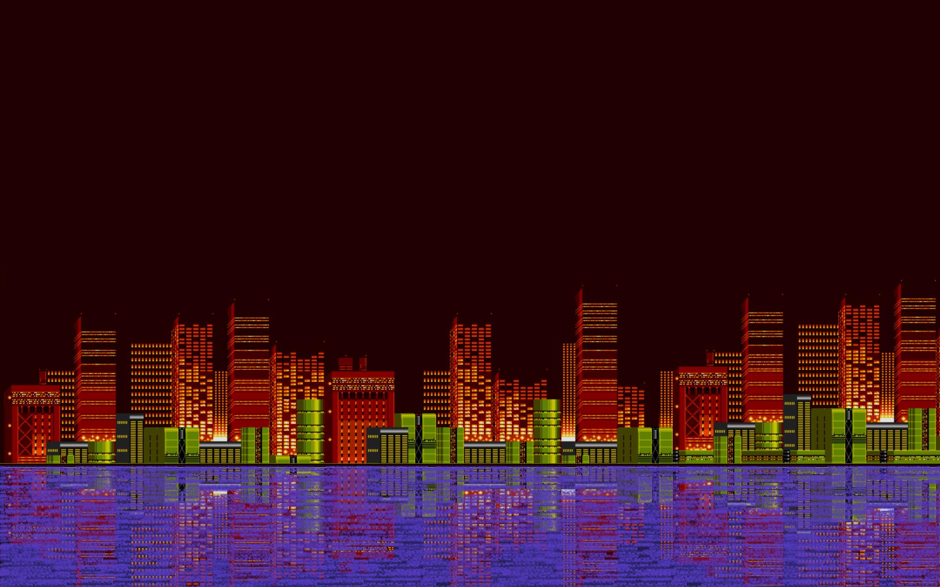 Android Wallpaper 8 Bit Landscapes