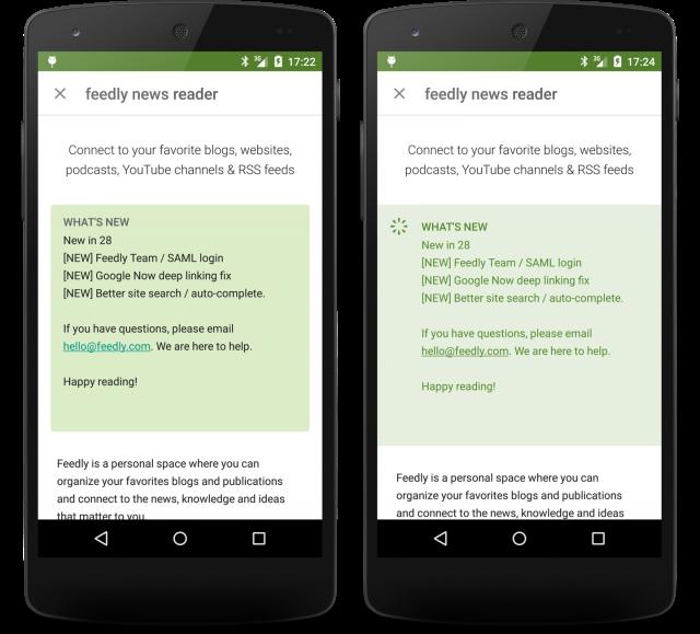 Google Play Store 5.7.10 whatsnew