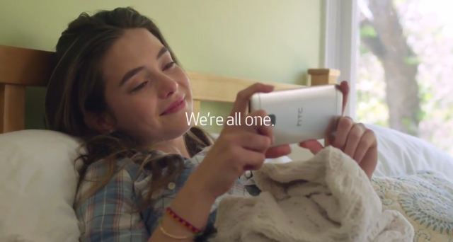 HTC One M9 commercial Were All One