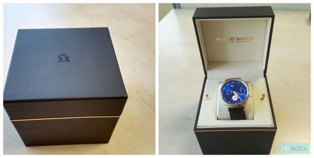 Huawei Watch luxury box leak