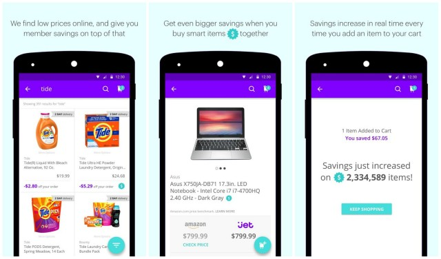 Jet.com Android app