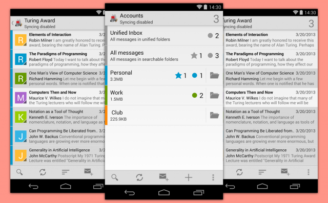 The best email app for android
